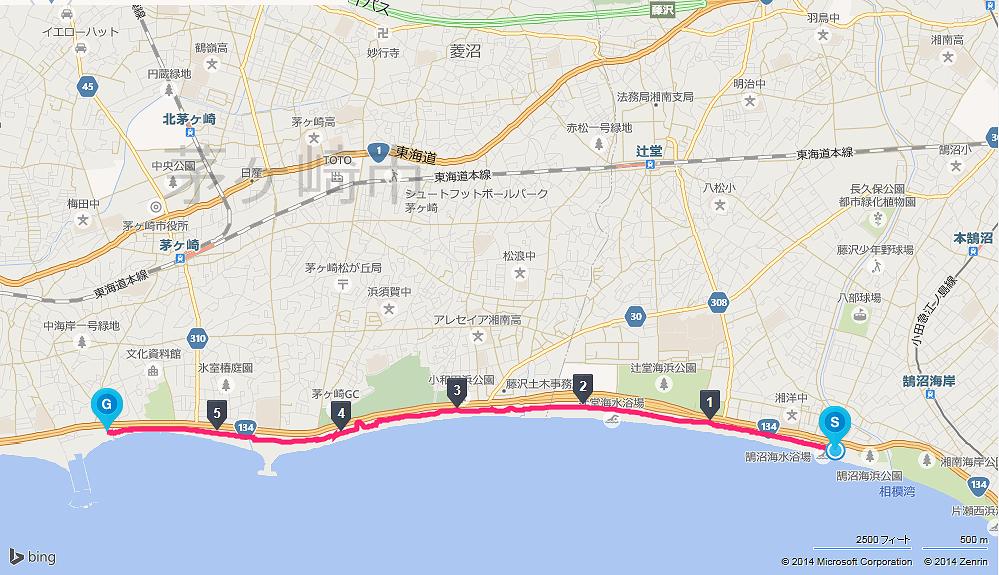 サイクリング コース 神奈川