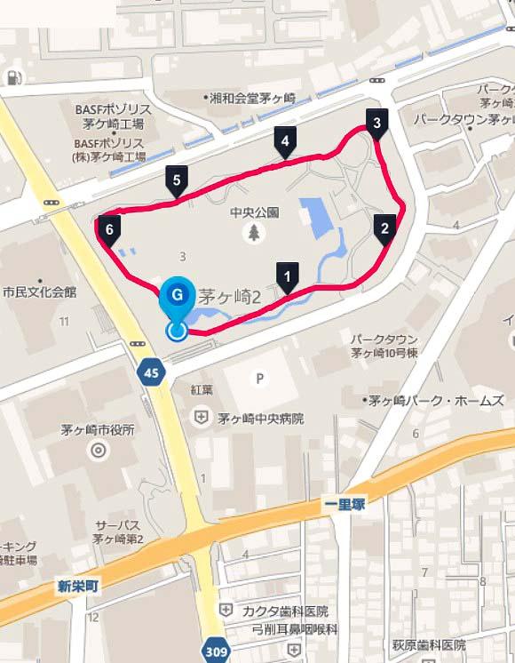 公園 茅ヶ崎 中央